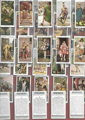 FULL SET 50 DANDIES (Famous Men )1932 VERY GOOD EXCELLENT  86YRS CIGARETTE CARDS