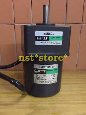 Used Applicable for Japan Oriental Motor 4RK25GN-A with 4GN60K reducer