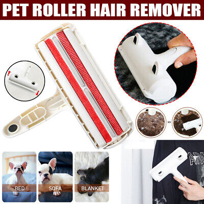 New Pet Hair Remover Roller, Lint Brush Fur Dog Cat Remover, Animals Removal AU