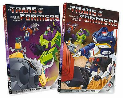 Transformers DVD Collection More Than Meets the Eye Season 2 Volume 1 and 2 NEW