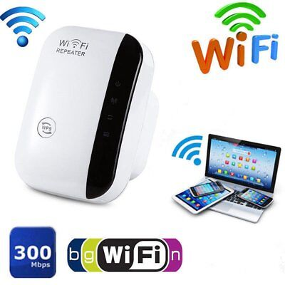 WiFi Range Extender Super Booster 300Mbps Superboost Boost Speed Wireless EU ti