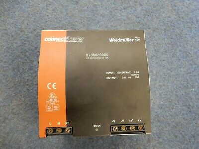 Weidmuller type 8708680000 CPSNT 250W 24V 10A Power Supply
