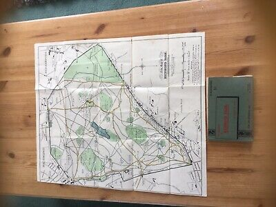 The Handbook Of Richmond Park With Map. First Edition. Very Rare. 1909.
