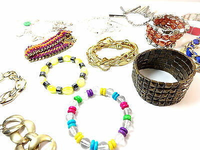 Wholesale Job Lot x500 Assorted Bangles/Bracelets Unique Brand New Trendy Pieces