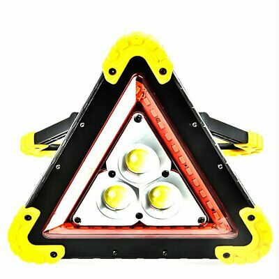 Foldable Windproof Reflective Triangular Warning Sign for Traffic kn