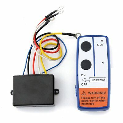 Remote Control Kit Wireless Winch Remote Control Switch For Truck ATV Winch 44
