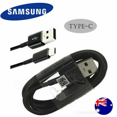 GENUINE 2m 3m Samsung Galaxy S9 / S8 Plus Type C USB Sync Charger Charging Cable