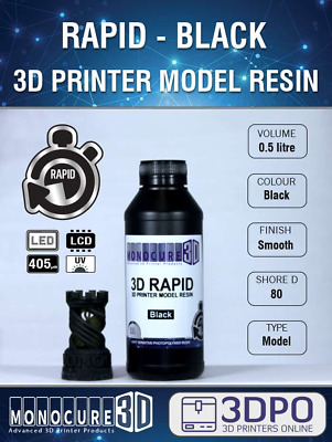 Monocure3D Rapid 500ml Resin - 8 Colours to choose from (Monocure)!