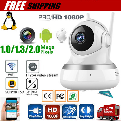 720/960/1080P Security HD IP Camera Wireless WiFi Monitor Audio CCTV Camera DQ