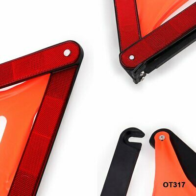 Car Warning Signs Safety Warning Signs Tripods Foldable Parking Triangles EG