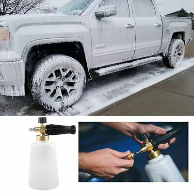 2L High Pressure Foam Gun Water Bottle Quick Release Car Washer nH