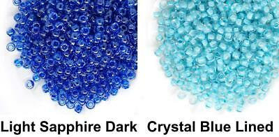 10g Inside Color Opaque Blue Round Glass Japanese TOHO Seed Beads 11/0 2.2mm