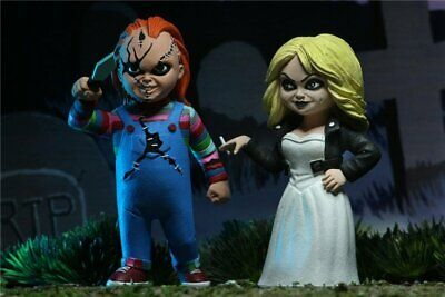 """Neca Toony Terrors 6"""" AF Bride of Chucky 2 Pack Action Figure Pre-order WL CA"""