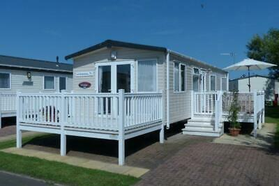 Private sale static caravan in Northumberland. Beach location near Amble