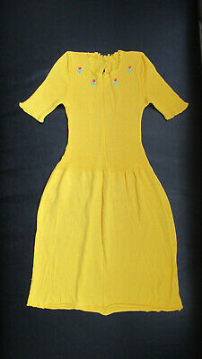 A Beautiful, Vintage, Yellow Dress for a Child (1960's)