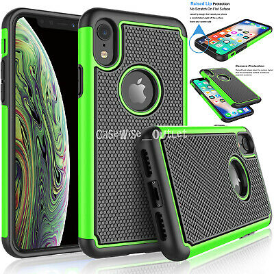 Shockproof Heavy Duty Bumper Hard Case Cover For Apple iPhone 6 6s 7 8 Plus X XS