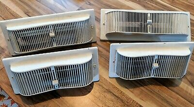 Vintage Accordion Style Honeywell Heater Vent Wall Cover adjustable qty 4 unique
