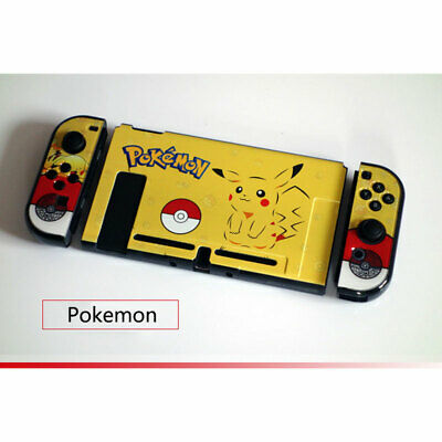 Pokemon Series Plastic Protective Shell Cover Case for Nintendo Switch & Joy-Con