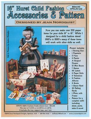 "Jean Nordquist's 15""-16"" Huret Fashion Accessories & Pattern 200+ items to make"