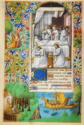 The Wharncliffe Hours . High Quality Reproduction.