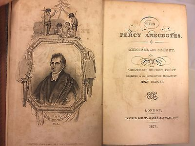 The Percy Anecdotes Original & Select Not 1st Edition 20 Volumes 1823 S&R Percy