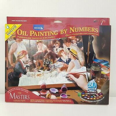 Reeves The Masters Collection Oil Painting by Numbers Various New