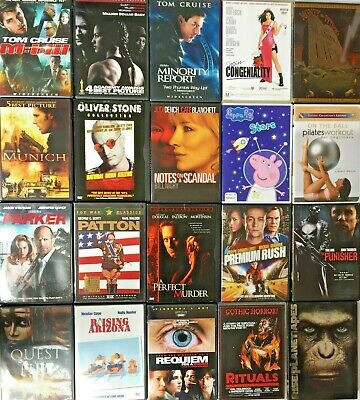 You choose DVD MOVIES $1.99 each includes case & art Combined Shipping Very Good