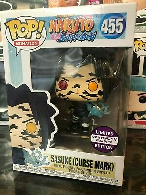 Funko Pop Animation: Naruto Shippuden - Sasuke Curse Mark CE Sticker, Multicolor