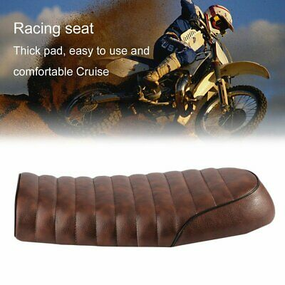 Universal Cafe Racer Seat Waterproof Leather Padded with Sponge for Honda Jq