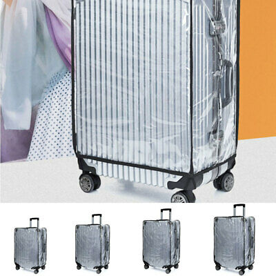"18-30"" Transparent Waterproof PVC Travel Luggage Suitcase Protective Cover Case"