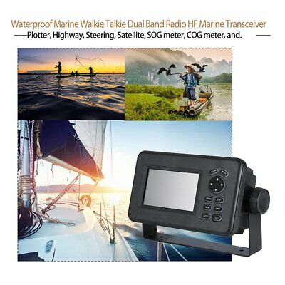 4.3 Inch LCD Marine GPS Navigator Combo With AIS Transponder HP528 Receiver F0