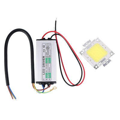 50W LED SMD Chip Bulbs With 50W High Power Waterproof LED Driver Supply vC