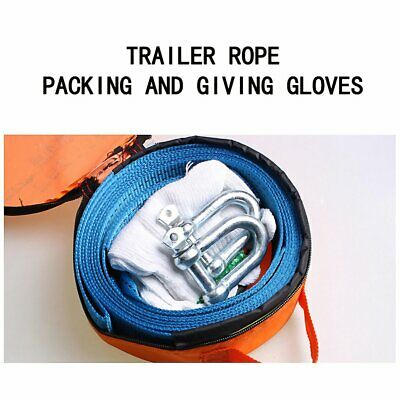Tow rope tow vehicle tools Emergency truck auto car atv towing WP