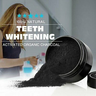 Teeth Whitening Whitener Activated Organic Charcoal Powder Strengthen hH