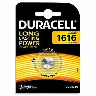 1 x Duracell CR1616 DL1616 ECR1616 Lithium 3v Batteries Coin Cell Use By 2026