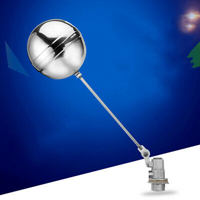 1/2'' Stainless Steel Float Ball Valve High Pressure Automatic Water Tanks Home