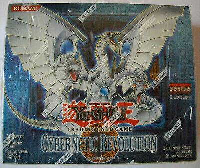 YuGiOh - CYBERNETIC REVOLUTION - Display - Deutsch - 1. Auflage - OVP - NEU