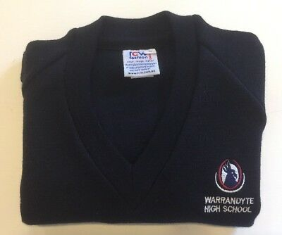 Brand New Warrandyte High School Jumper - Size 10 - Without Tags