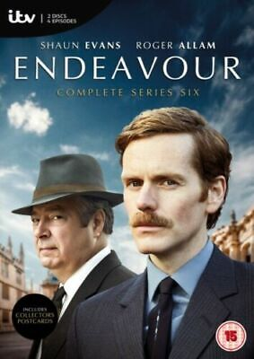 Endeavour Series 6 Brand New Region 2 UK Fast & Free shipping