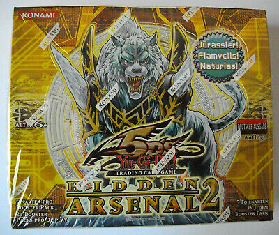 YuGiOh -  HIDDEN ARSENAL 2  - Display - Deutsch - 1. Auflage - OVP - NEU