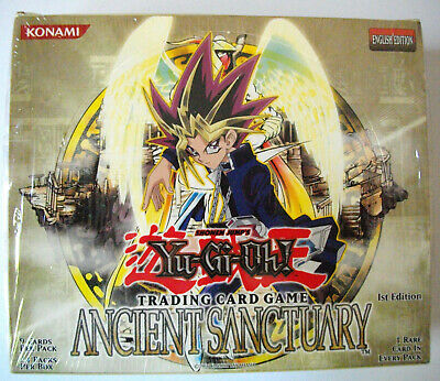 YuGiOh - ANCIENT SANCTUARY - Display - Englisch - 1. Auflage - OVP - NEU