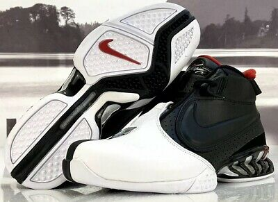 3fabe6af NIKE AIR ZOOM Vick 2 Falcons Shoes 599446-003 Black Red Training Shoe Mens  Sz 8