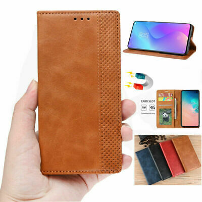 For OnePlus 5T Luxury Magnetic Classic PU Leather Wallet Flip Case Cover