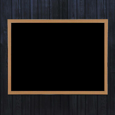 Blackboard Magnetic Small Or Large Wooden Framed Office Notice Menu Chalk Board