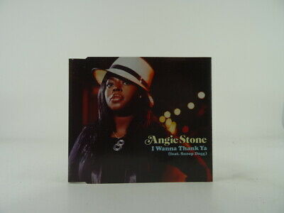 ANGIE STONE FT. SNOOP DOGG, I WANNA THANK YA, 153, EX/VG, 3 Track, CD Single, Pi