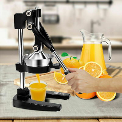 NEW Hand Press Fruit Juicer Fruits Orange Juice Manual Citrus Squeezer Maker UK