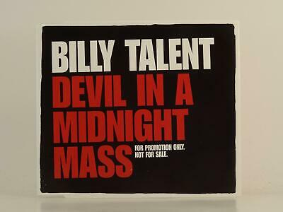 BILLY TALENT, DEVIL IN A MIDNIGHT MASS, EX/EX, 1 Track, Promo CD Single, Picture
