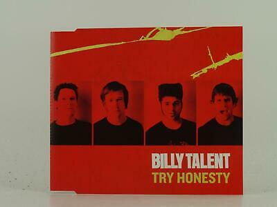 BILLY TALENT, TRY HONESTY, 341, EX/EX, 1 Track, Promo CD Single, Picture Sleeve,