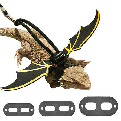 NEW 1pc Reptile Lizard Gecko Bearded Dragon Harness And Leash Adjustable Strap
