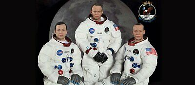 DID Apollo 1/6 NA01/2/3 Neil Armstrong Buzz Aldrin Michael Collins Astronauts PW